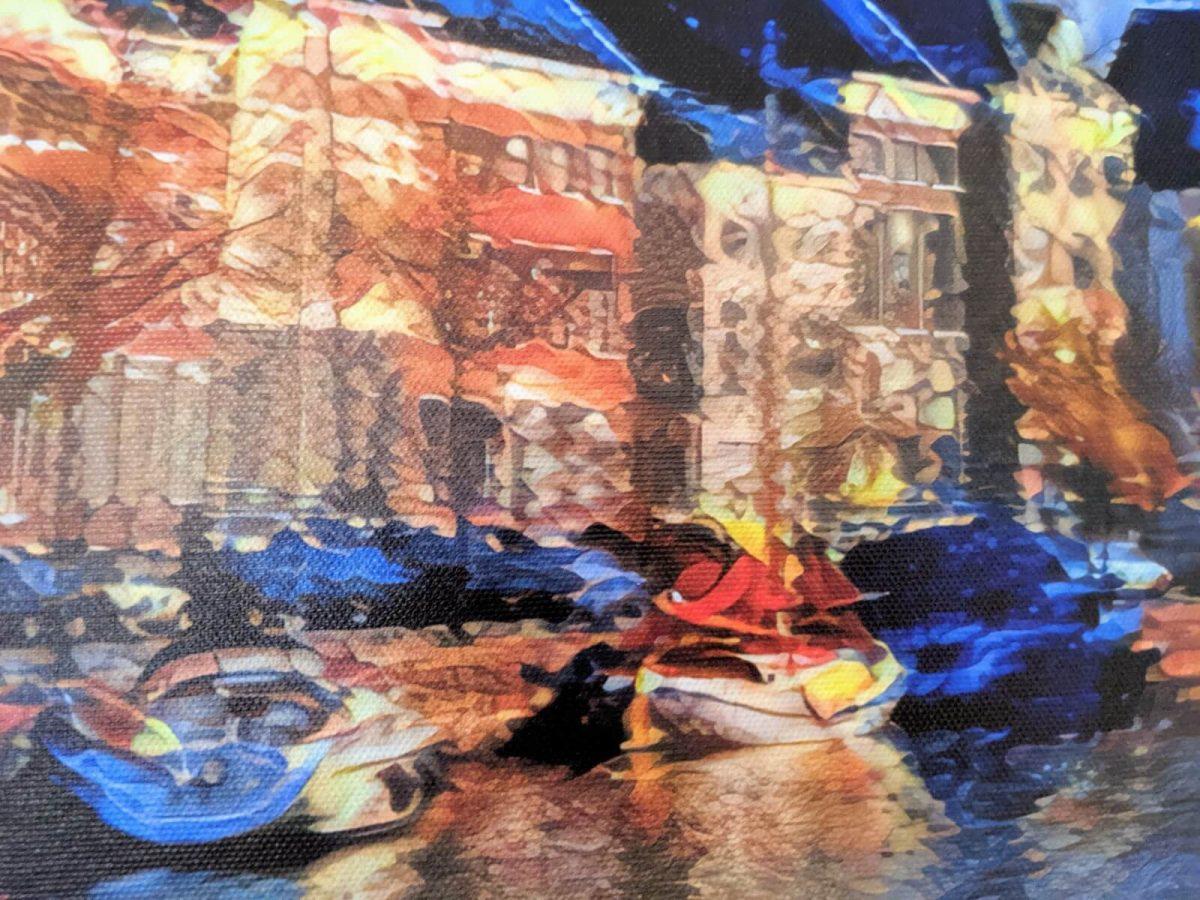 HogeDerAa in de stijl van Chaïm Soutine op Canvas 60x40_5