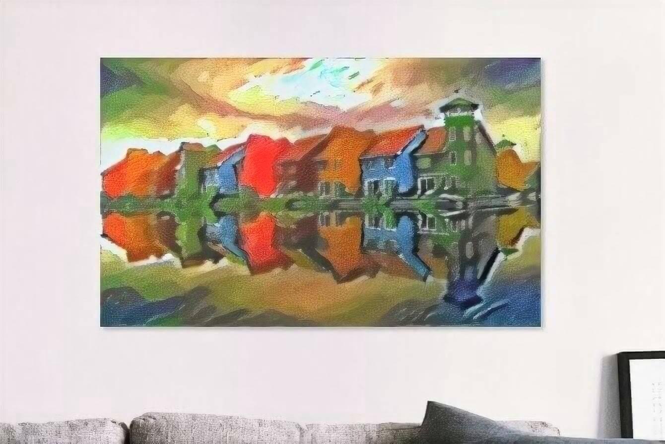 Geef uw interieur kleur met Slimme Kunst!
