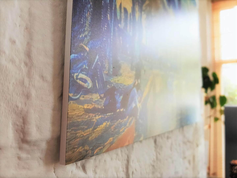 Kunstwerk op forex aan de muur: Hoge Der Aa in de stijl van Vincent van Gogh.