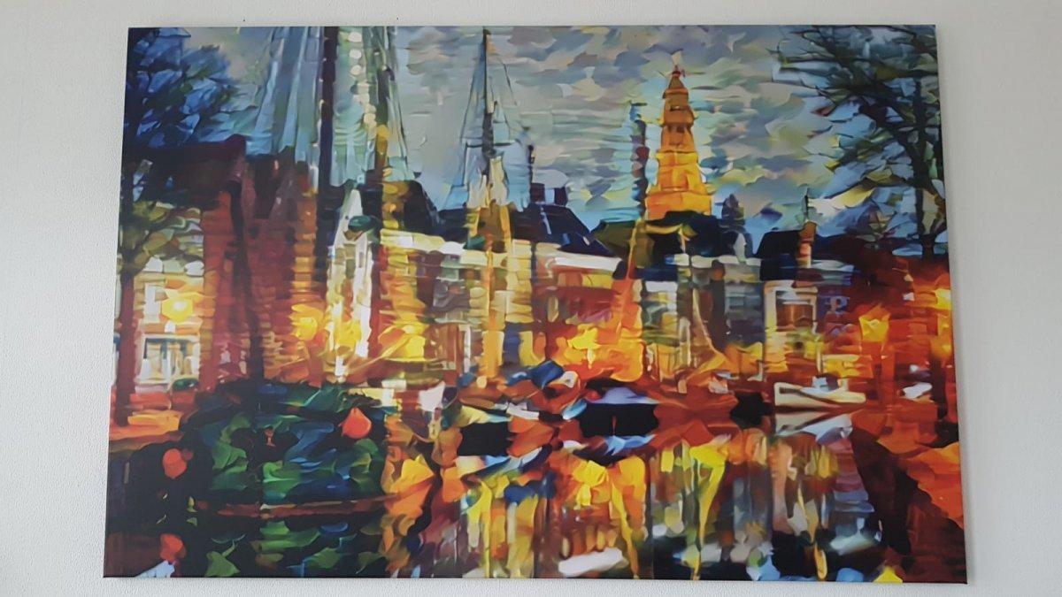Canvas hoge der A Groningen