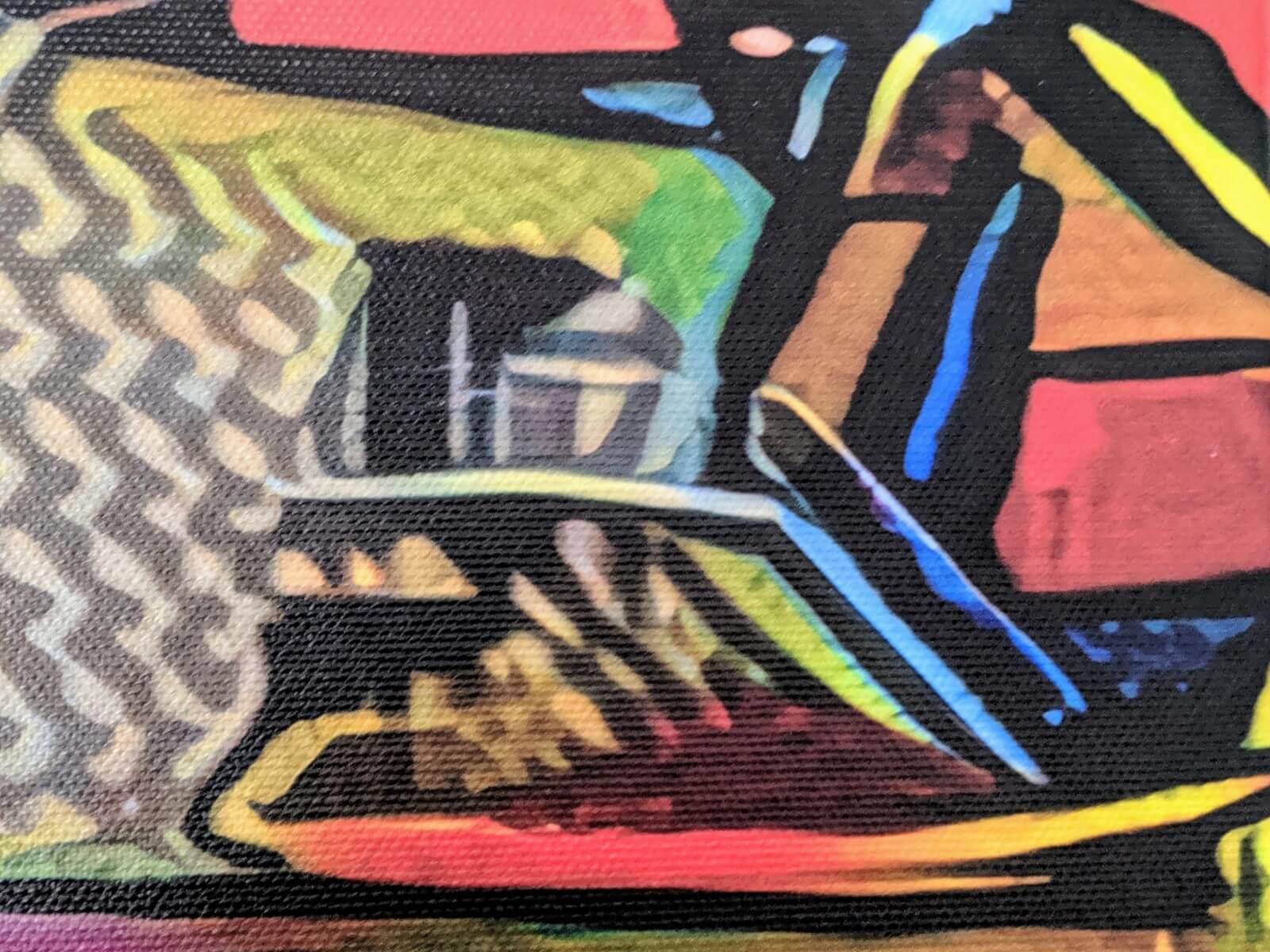 Zelfs abstracte details blijven scherp!