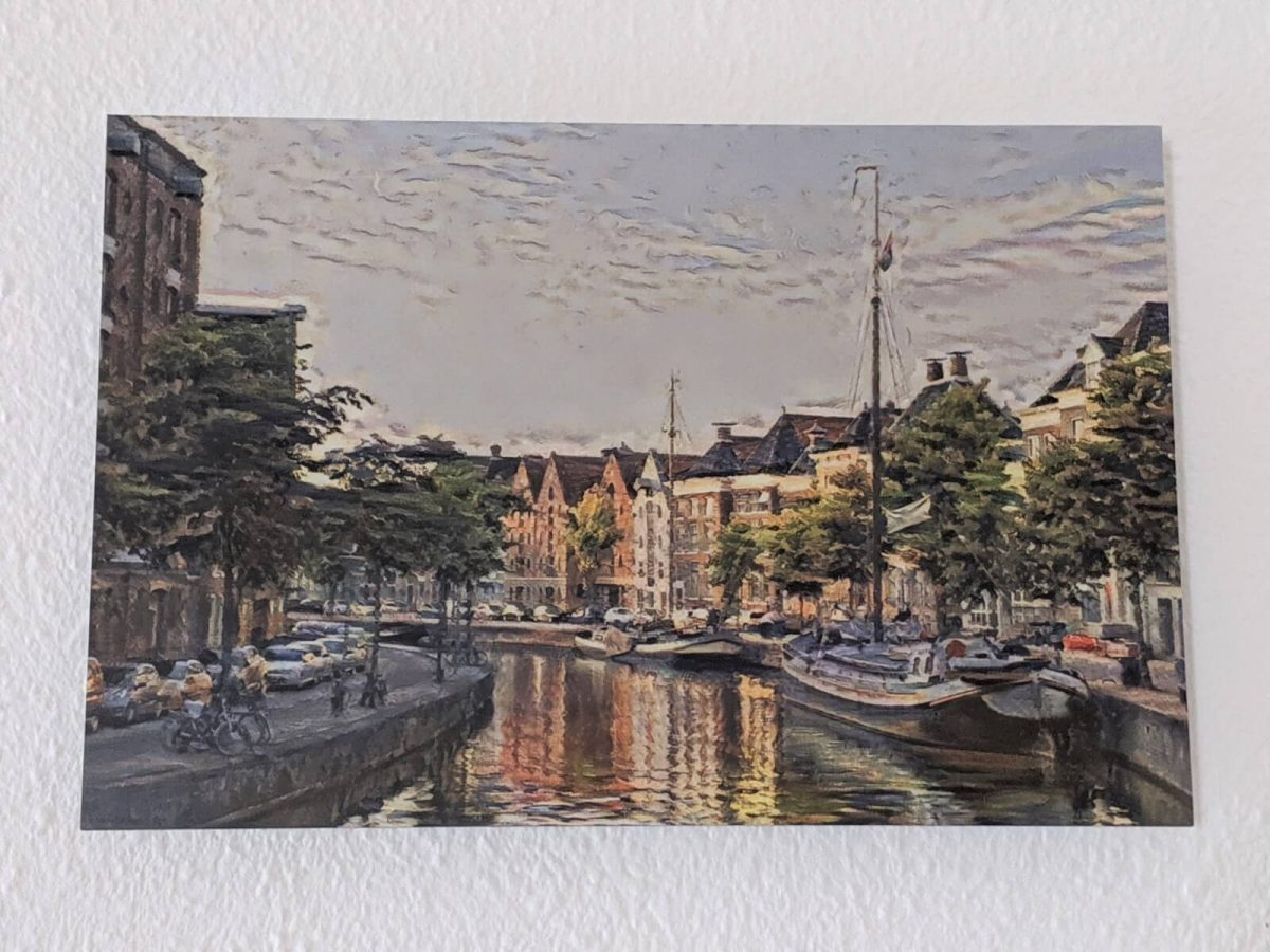 Klassiek Schilderij Hoge Der A Groningen op Forex