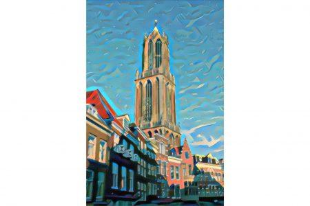 Modern Schilderij Domtoren Utrecht